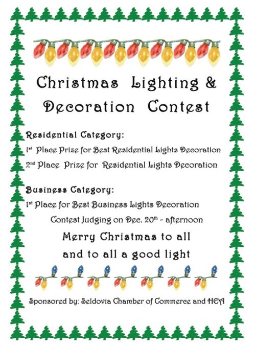 ChristmasLighting and Decoration Contest