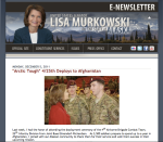Murkowski's December 2011 Newsletter to Alaskans