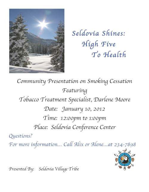 Community Presentation on Smoking Cessation