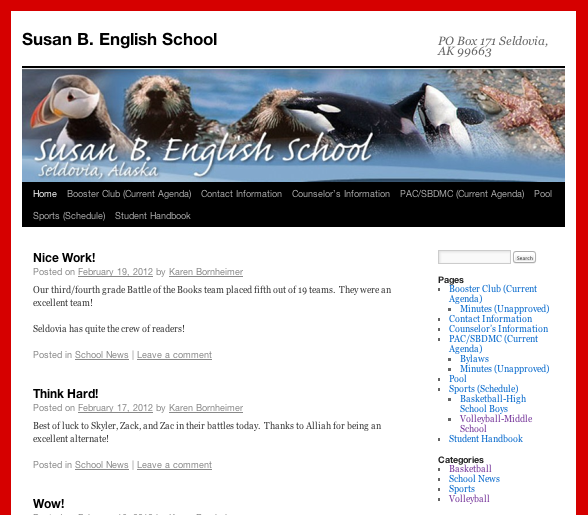 SBE Has A Blog!