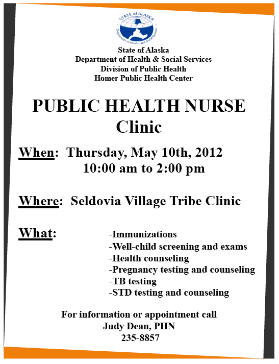 Health Nurse, Judy Dean is Coming to Town