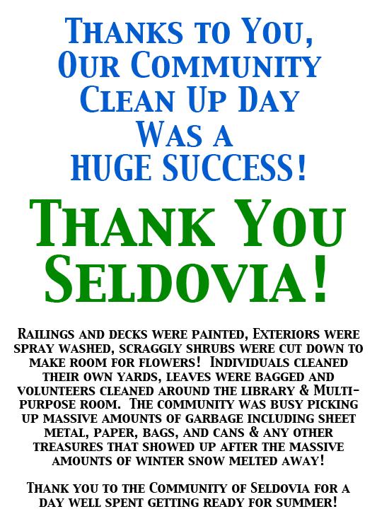 Thank You Seldovia!