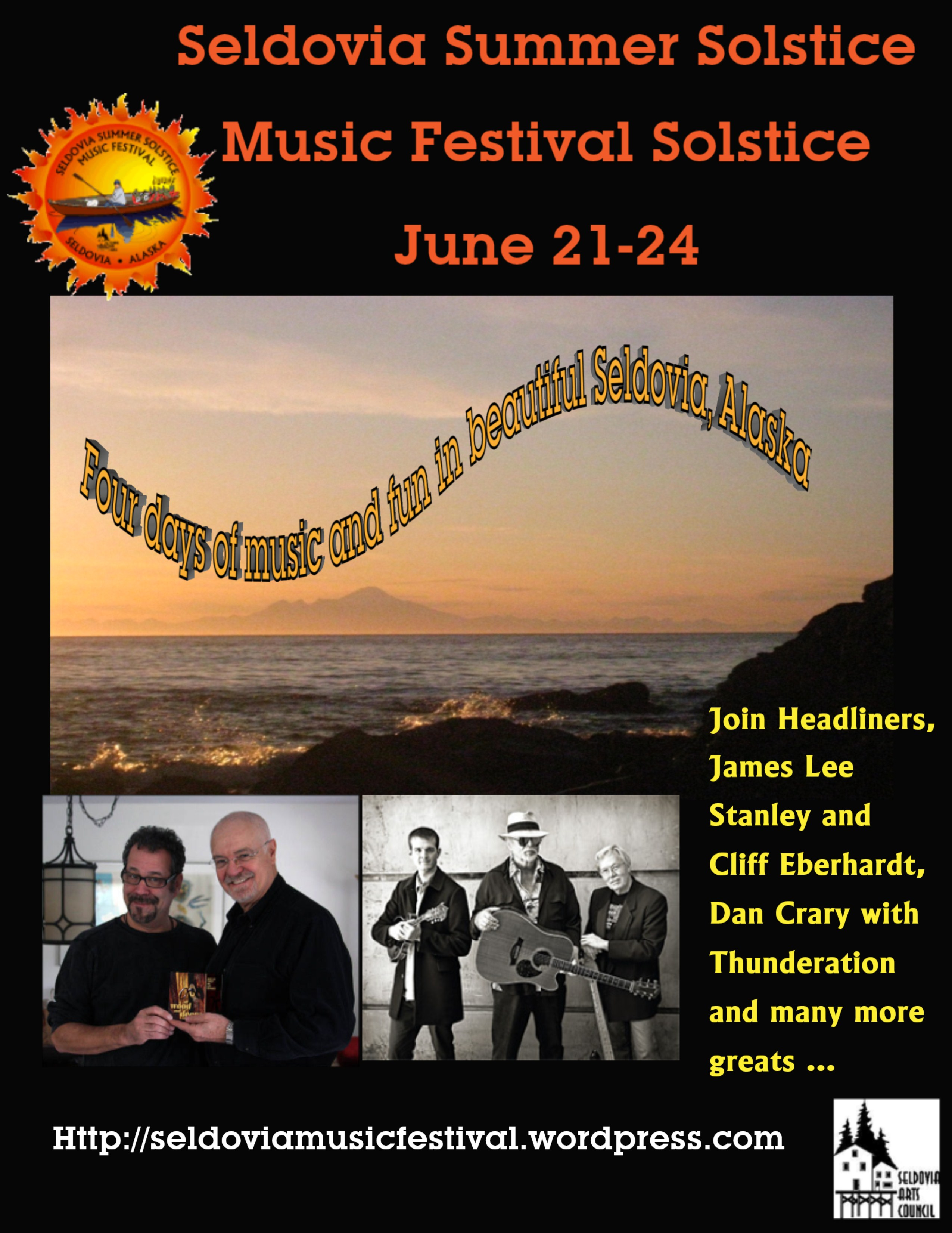 Seldovia's Summer Solstice Music Festival – June 21-24