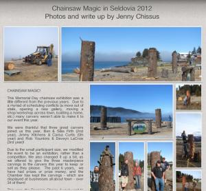 Chainsaw Magic