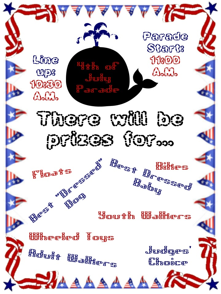 4th of July Parade Information – Join us!
