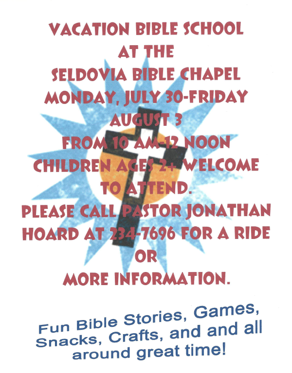 Summer VBS – Join Us!