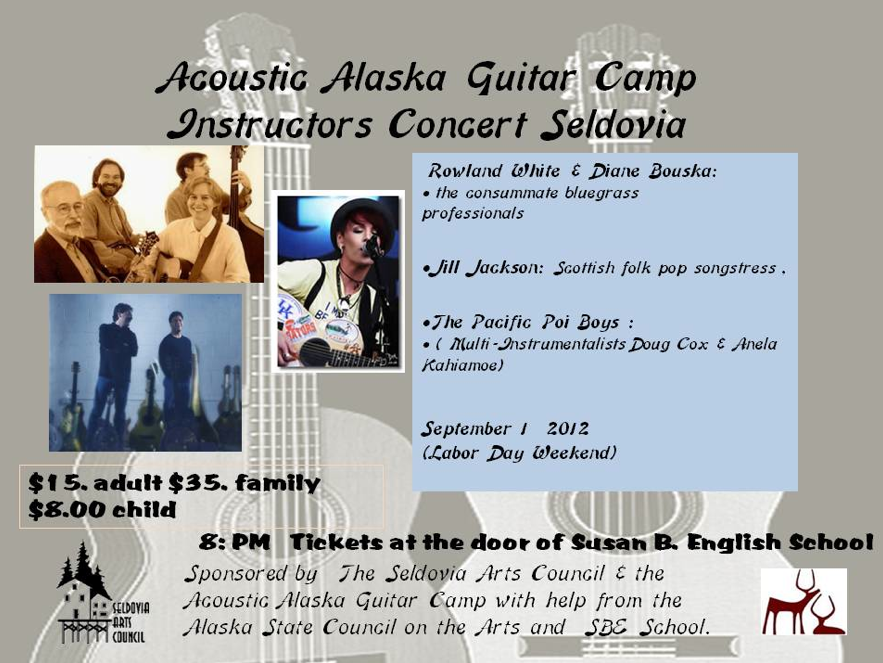 Guitar Masters Concert Coming to Seldovia