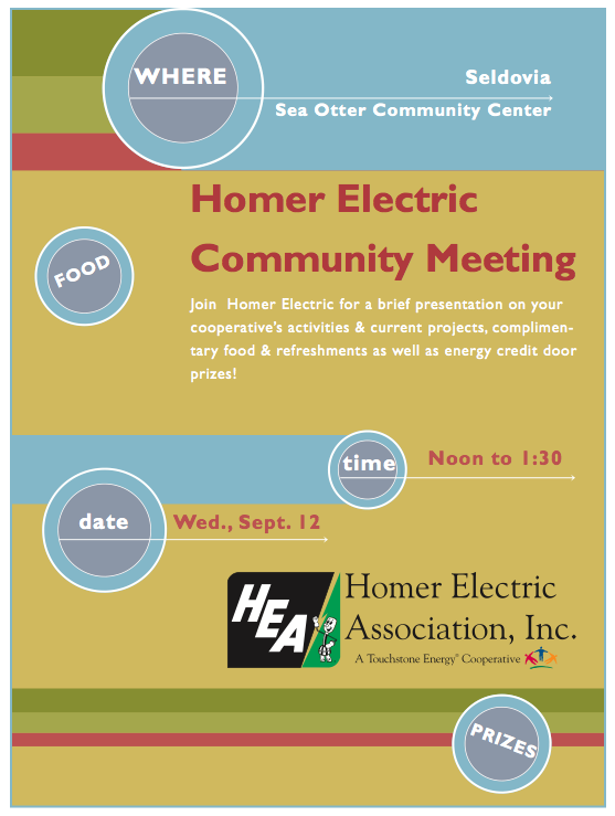 HEA Seldovia Community Meeting in September