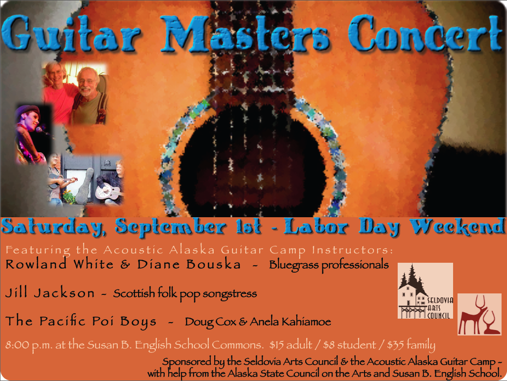 Guitar Masters Concert TONIGHT