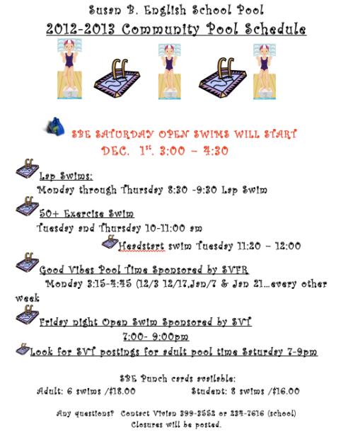 121129 Pool Schedule