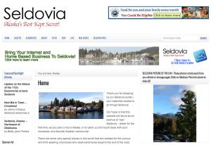 Seldovia.com and Seldovia Gazette has a New Look!