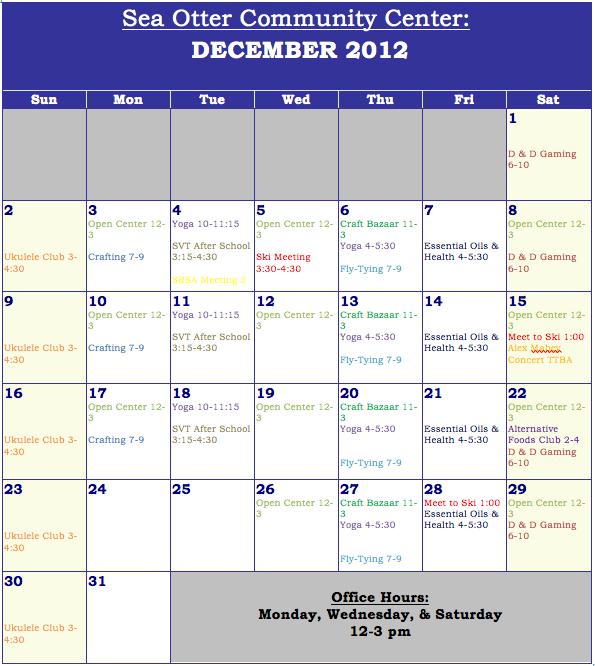 meet the press december 2012 calendar